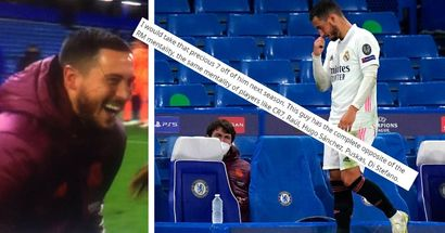 'I would take that precious 7 off of him next season': fans fuming after Hazard no-show vs Chelsea