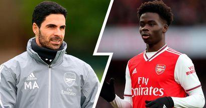 Mikel Arteta provides update on Liverpool-linked Bukayo Saka's future