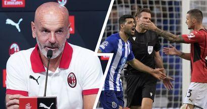 Il Milan si scansa dalla Champions per lo Scudetto? La risposta di Pioli non lascia alcun dubbio