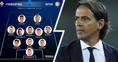 UFFICIALE   La formazione scelta da Inzaghi per la sfida contro la Fiorentina: out Dumfries, gioca Darmian