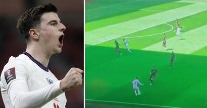 'Getting robbed of assists in Chelsea and in England': Fans react as Mount shows off playmaking ability yet again