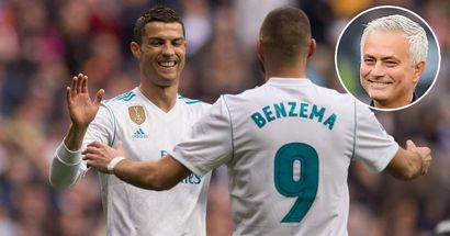 Mourinho: 'Best compliment you can give to Benzema is that Ronaldo was in love with him'