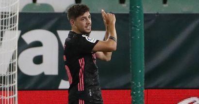 Fede Valverde, primer goleador del Madrid en la temporada 20/21