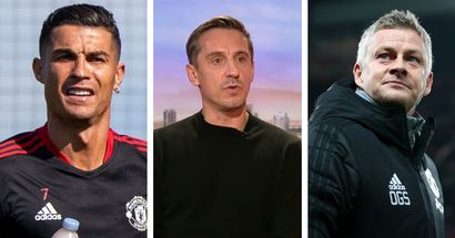 'With Ronaldo in the squad, he has to win': Gary Neville believes Solskjaer has no more excuses