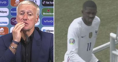 Didier Deschamps fait le point sur la blessure de Dembele