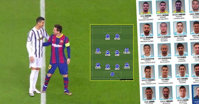 Seuls 16 joueurs dans l'histoire ont joué avec Messi ET Cristiano – leurs noms révélés