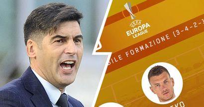 Le probabili formazioni di Manchester United-Roma: torna Smalling, Dzeko titolare