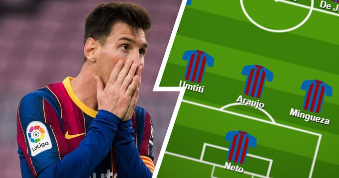 Pique out, Mingueza in: How Barcelona might line up against Eibar based on Celta loss