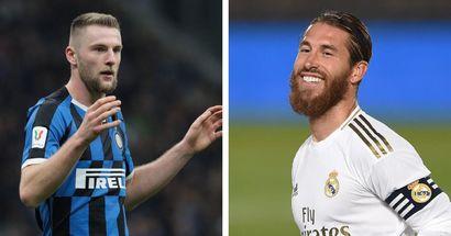 Milan Skriniar nombra a Ramos como el mejor defensa en el uno contra uno