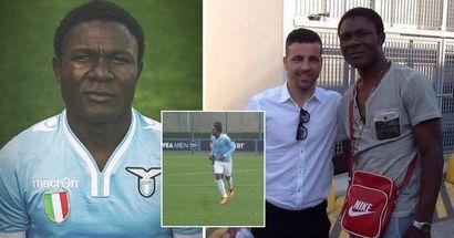 Was geschah mit Joseph Minala, dem 17-jährigen Spieler von Lazio, der als ein 42-Jähriger aussah?