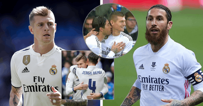 Toni Kroos: 'Ramos has been the greatest captain I've had in my career'