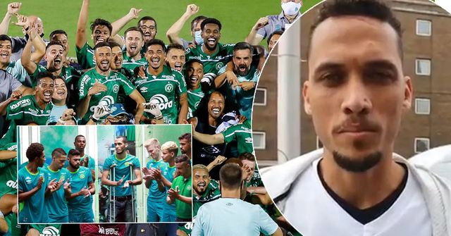 Chapecoense promoted to Brazilian top tier 5 years after aircrash, their sporting director survived it