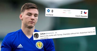 'We'll never do anything without Tierney': Scotland fans rue Kieran's absence in Czech Republic defeat