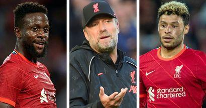 Origi, Ox & more: 6 players Klopp has used the least so far this season