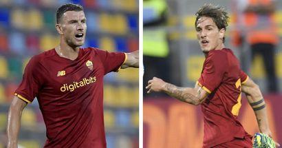 Manita della Roma contro il Debrecen: splendido gol di Zaniolo e Dzeko sugli scudi con una doppietta