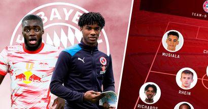 Upamecano, Chris und Omar Richards: Team-A und Team-B des FC Bayern für die Saison 2021/22