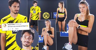 Hummels fa fitness con Alica Schmidt, l'atleta più sexy del mondo: sua moglie merita un trofeo per la pazienza