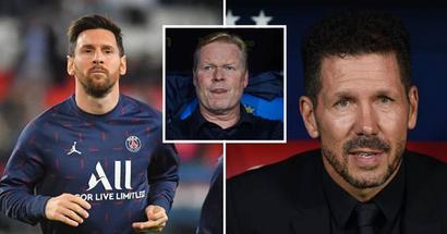 Diego Simeone kritisiert, dass Barcelona den Abgang von Lionel Messi als Ausrede benutzt