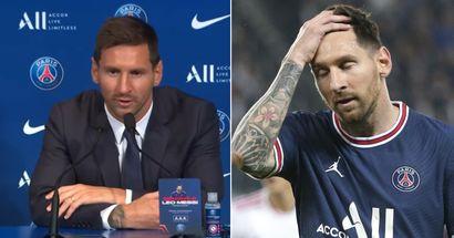 Messi: 'No me equivoqué fichando por el PSG'