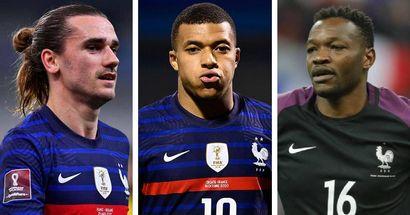 Joueurs de l'équipe de France préférés de la population française: Griezmann 2e, Mandanda loin derrière