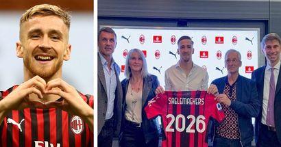 """""""La Salamandra rimane!"""": Saelemaekers festeggia il rinnovo di contratto con parole d'amore per il Milan"""