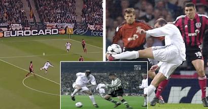 Roulette magistrale, contrôle de balle phénoménal et plus : revivez certains des meilleures actions de Zidane en LDC alors qu'il fête ses 49 ans (vidéo)