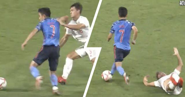 Prêt pour les Jeux olympiques: Kubo détruit le défenseur espagnol des moins de 23 ans avec une superbe aisance technique en amical