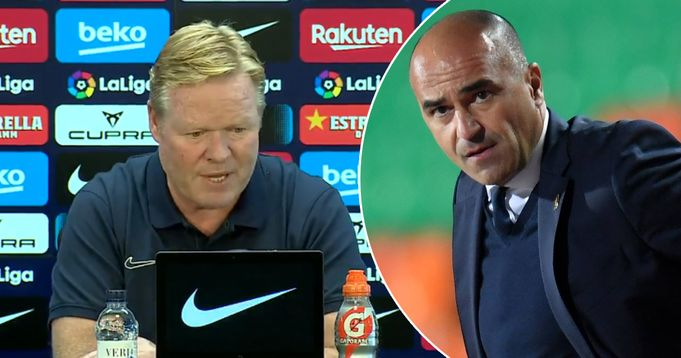 Ronald Koeman opens up on rumours about his possible replacement