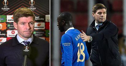 'The wheels are in motion': Gerrard speaks up after Rangers midfielder Kamara booed at by Sparta Prague fans