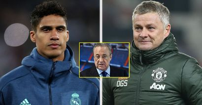 Real Madrid reject United's first bid for Varane, demand £80m (reliability: 4 stars)