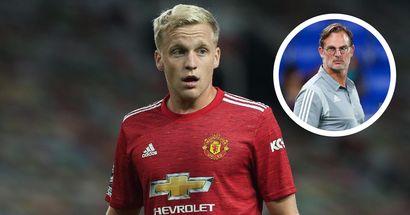 'I'm confident in the boy': Dutch legend De Boer adamant fans will see 'real' Van de Beek soon