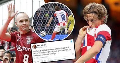 """""""Iniesta au même âge claque des shots de saké dans un bar de Shibuya"""", Modric impressionne, Iniesta en prend pour son grade et ça devient viral"""