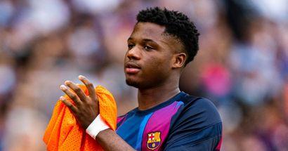 Ansu Fati extends Barcelona deal until 2027