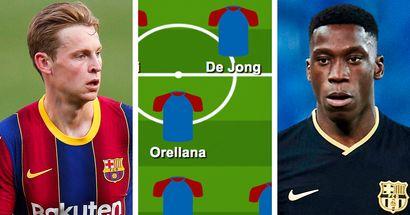 No Busquets, Moriba in: How Koeman can boost Barca's defensive midfield next season shown in 3 lineups
