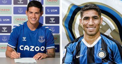Real Madrid earn almost €90m in player sales with James' transfer to Everton confirmed