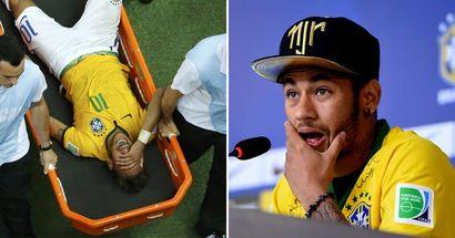 """""""Ich versuchte, Beine zu bewegen, aber ich konnte es nicht"""": Neymar verrät, wie er 2014 fast gelähmt wurde"""