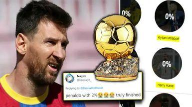 La última encuesta revela lo que piensa la gente de las posibilidades de Leo Messi de ganar el Balón de Oro: más de 20 mil fans votaron