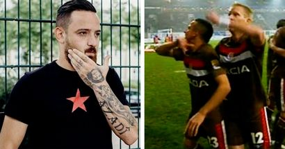 Ex-Bundesliga player - known for 'cut-throat' gestures - arrested on terrorist links, drug charges