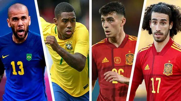 8 jugadores que el Barcelona podría seguir en la final de Juegos Olímpicos