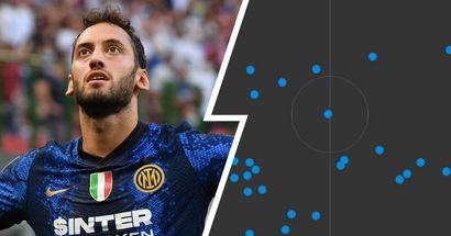 Calhanoglu protagonista silenzioso di Fiorentina-Inter: l'analisi della prestazione del 10 Nerazzurro