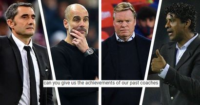 What did 21st century Barca coaches achieve before landing Camp Nou job — you asked, we answered
