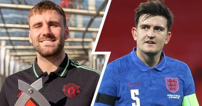 Maguire: 'I'm delighted for Luke Shaw. He's thoroughly deserved the England call-up'