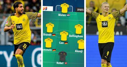Mit Can als Sechser und ohne Haaland: BVB-Fan schlägt seine Aufstellung für das Spiel vs. Mainz vor