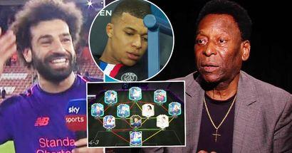 Pele svela la sua incredibile Dream Squad con 9 giocatori moderni