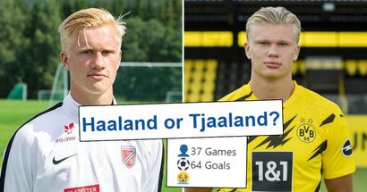 Is it true that Haaland's cousin Albert Tjaaland is as prolific as Erling? You asked –we answered