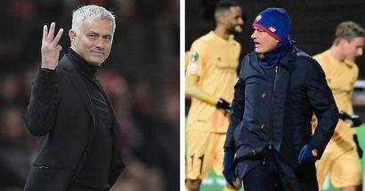 La Roma di Mourinho umiliata dal Bodo-Glimt: i tifosi si vendicano sui social delle '3 dita' dello Stadium