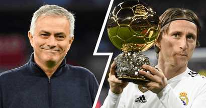 'When someone can make history in what they do they become immortal': Mourinho says Ballon d'Or winner Modric is 'beyond compare'