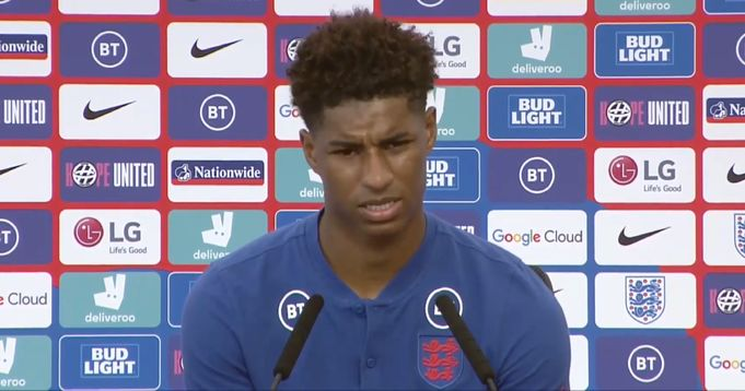 'We don't want to be scared': Rashford confident about England's Euro 2020 chances
