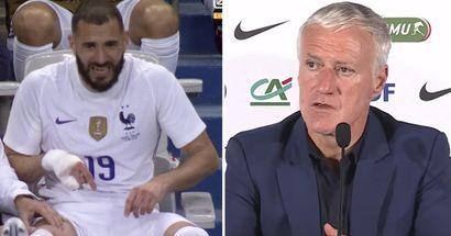 Didier Deschamps provides injury update on Benzema