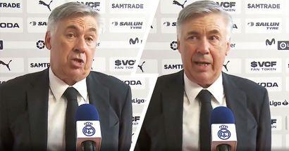 'Tengo una plantilla que lucha': Ancelotti elogia el espíritu del equipo tras la remontada vs Valencia